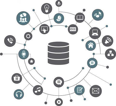 Databastjänster - nästan alla tjänster använder databaser