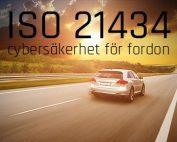 ISO 21434 cybersäkerhet för fordon