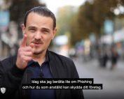 stillbild från video om phishing