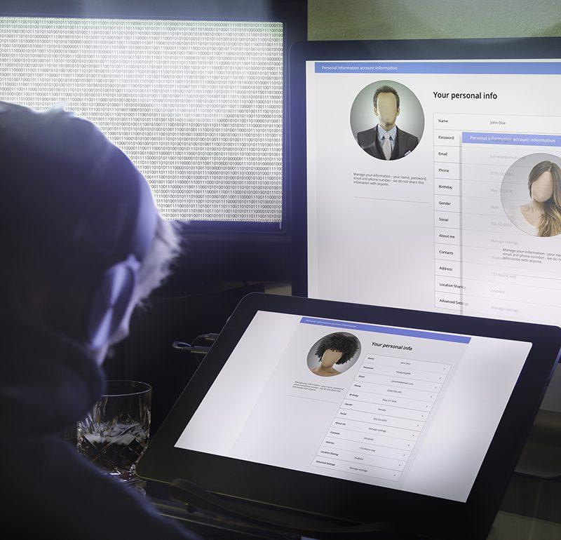 Hackare stjäl din identitet